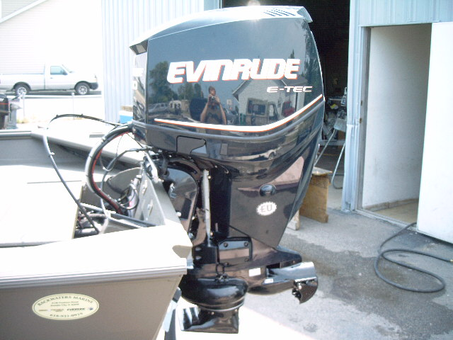 War Eagle 2072 LDSV Evinrude E-Tec 150 Jet